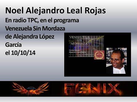 Noel Alejandro Leal Rojas / 10-10-14 en Radio TPC