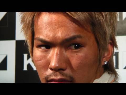 K-1 WORLD MAX 2010  大石駿介インタビュー