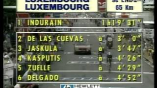 Indurain the most incredible time trial ever seen Tour 1992 part 2 of 2