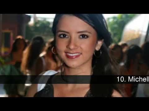 Most beautiful women of El Salvador
