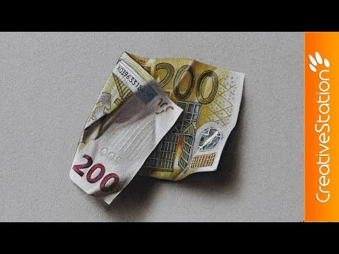 200 euro banknote - Speed Painting | CreativeStation GM