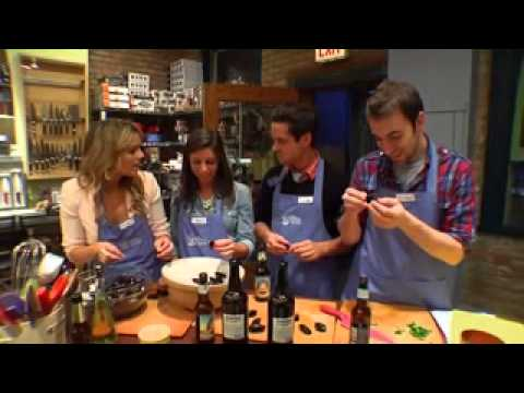 Cooking with Ali Fedotowsky at The Wooden Spoon NBC New York
