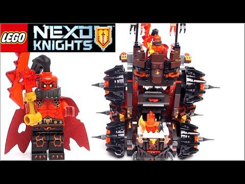 Лего Нексо Найтс 70321 Осадная машина генерала Магмара. Обзор LEGO Nexo Knights