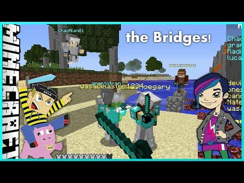 Minecraft - the Bridges OMG Awesomeness with Gamer Chad on Mineplex
