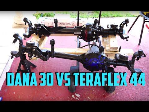 JEEP Axle Battle / Teraflex 44 Vs Dana 30 You deside.