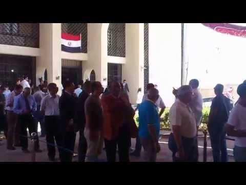 Egyptian presidential elections 2014 - Egyptian embassy in doha