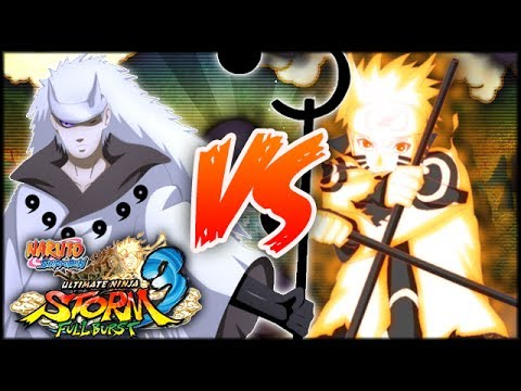 [pc] Naruto Shippuden: Ultimate Ninja Storm 3 Full Burst | Rikoudo Madara Vs Asura Naruto video
