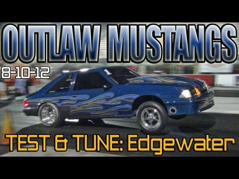 Outlaw Mustang Test & Tune, all Ford Mustangs drag racing Edgewater 20