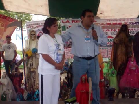 Presentaciòn Santa Muerte Peregrina en Tepatepec, Hgo. por Prof. Manuel Valadez