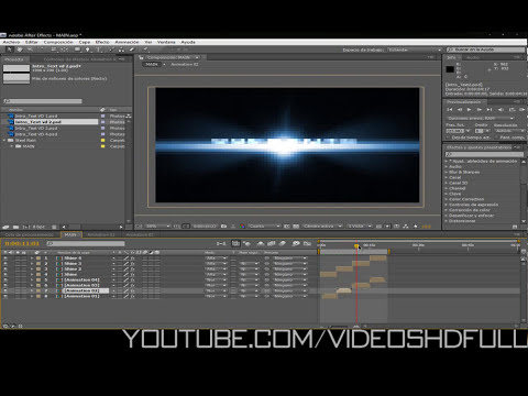 Adobe after effects cs4-cs5//Proyecto editable rain