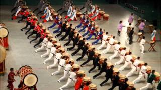 This is a Japanese drum line!