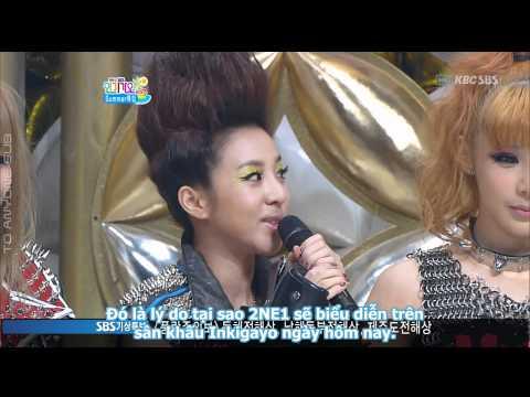 [TAS][Vietsub] 2NE1 Interview @ SBS Inkigayo (26.06.2011)