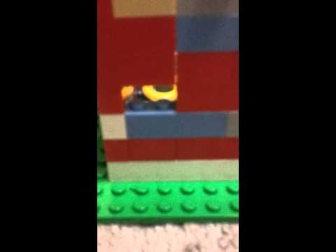 the little LEGO model house
