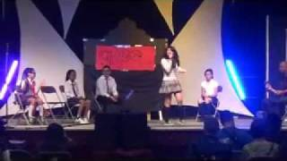 Telephone- Lady GaGa Ft. Beyonce [LIVE COVER] @ GMA Pinoy Fiesta 2011 (Pinoy Glee)