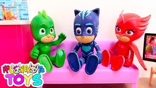 I FRATELLI DI LUÌ! Super Pigiamini PJ Masks!! - Me contro Te Toys