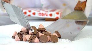 MEIJI STRAWBERRY CHOCOLATE - ICE CREAM ROLLS