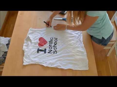 Реконструкция старых футболок! 6 идей | Vera Belinskaya