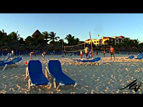 Sandos Playacar Beach Resort &amp;  Spa - Video Review