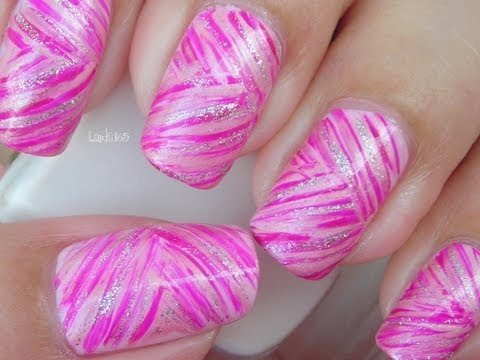 Nail Art - October in Pink: Pink Ribbons
