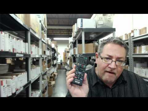Original Sony RMT-B119A BLU RAY Remote Control - ElectronicAdventure.com
