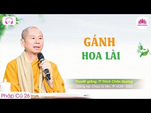 Gánh hoa Lài - Pháp Cú 26