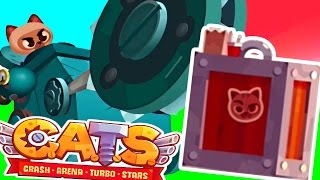 BOX OPENING + BOUNCY BOULDER! -  C.A.T.S. Crash Arena Turbo Stars