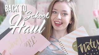 BACK TO SCHOOL SUPPLIES HAUL 2016!