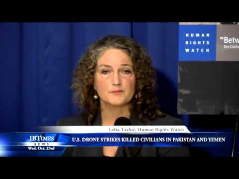 U.S. Drone Strikes Killed Civilians In Pakistan And Yemen