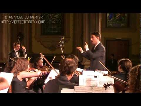 Glory to God - Recitative and Chorus 14, 15, 16 e 17 - Messiah (G. F. Händel) - Front view