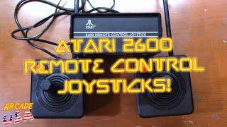 Atari 2600 Remote Control Joysticks from '83!