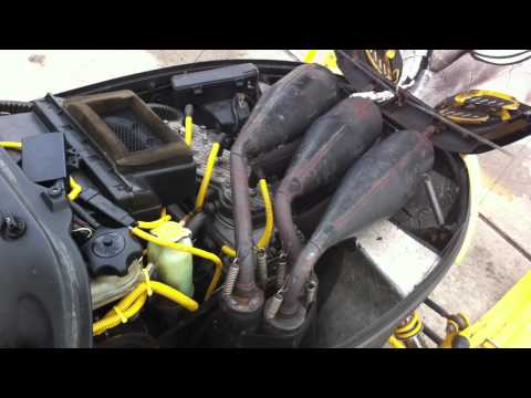 99 Ski Doo Mach Z 800 Triple Idling With Dynoport Pipes