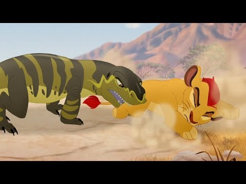 Lion Guard: Kenge's Attack   The Bite of Kenge HD Clip