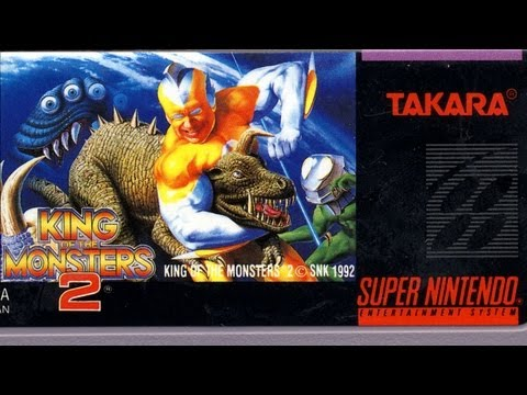 Classic Game Room - KING OF THE MONSTERS 2 review for Super Nintendo