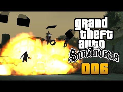 GTA SAN ANDREAS #006 ► DAMN Train ACTION «» GTA San Andreas Lets Play