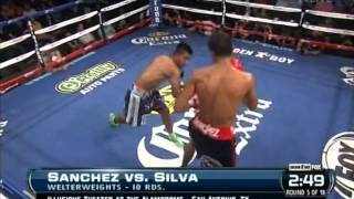 Alan Sanchez vs Jorge Silva 18-04-2014