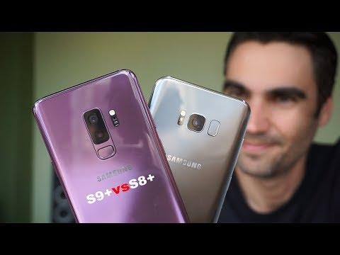 Samsung Galaxy S9 Plus vs Galaxy S8 Plus   review comparativa en español