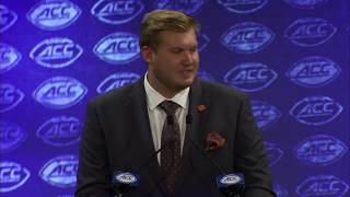 Mitch Hyatt on why he came back to school, facing the Clemson DL, and more