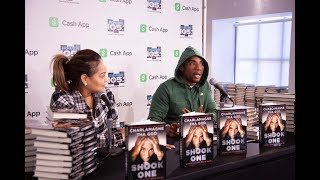 "Charlamagne Tha God Book Signing ""Shook One: Anxiety Playing Tricks on Me."""