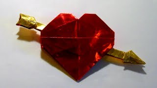Origami Valentine By Robert J. Lang (part 4 Of 4)