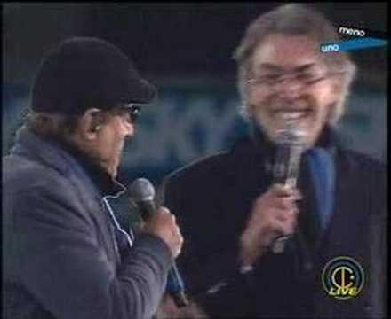 centenario inter-duetto celentano moratti