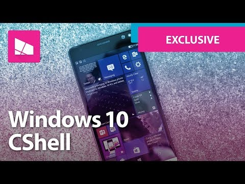 First Look at CShell on a Windows phone (Exclusive)