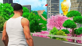 Travelling to CHINA in GTA 5!