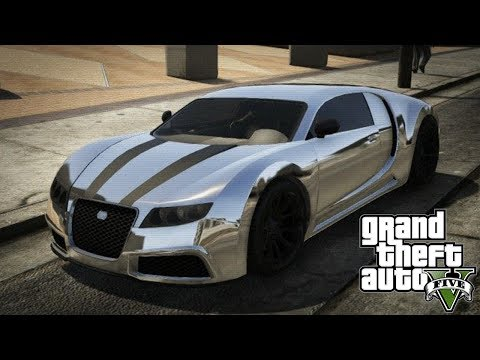 "GTA 5 Online - ADDER Online Spawn Location! (FREE Bugatti Veyron!) ""GTA 5 Rare & Secret Vehicles"""