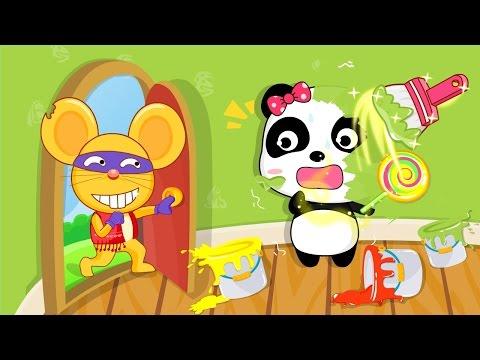 마법페인트|키키묘묘 베스트 앱 짤막영상|어린이 색칠놀이|베이비버스 앱 동요상|BabyBus
