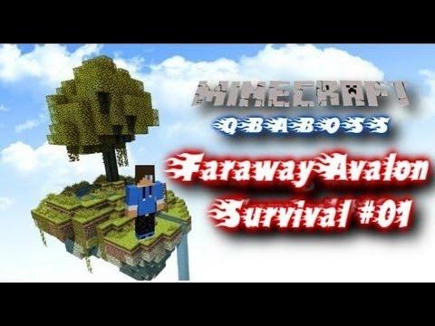 Minecraft 1.4.7 Faraway Avalon #01 Survival informacje QbaBoss