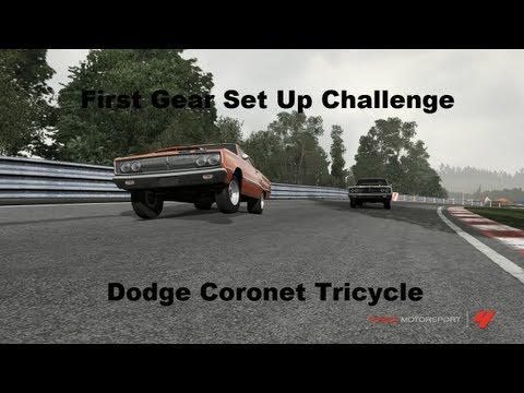 First Gear Set Up Challenge Dodge Coronet Tricycle (forza 4)