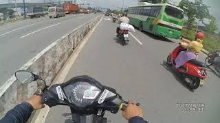 Sài Gòn - Biên Hòa...Thông chốt công an Đồng Nai ở tốc độ 1xx