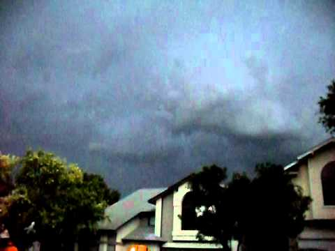 San Antonio, Texas Storm September 27, 2011