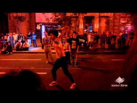 Уличные танцы, Киев, Вечерний Крещатик часть 1 - Street Dance, Kiev, Khreshchatyk Evening part 1