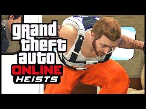 GTA 5 | Online Heists - The Prison Break Job